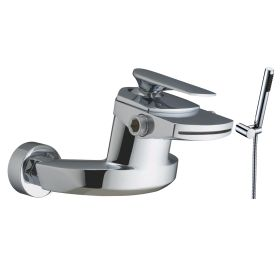 Just Taps Plus Gant Wall Mounted Bath Shower Mixer With Kit
