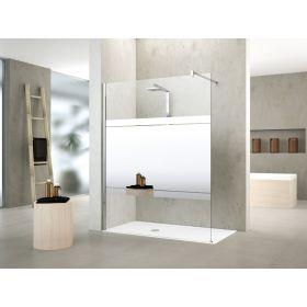 Novellini Kuadra H Mirror Shower Panel