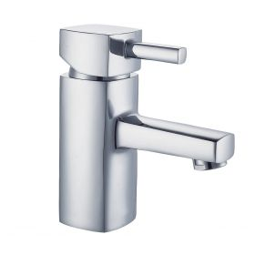 Just Taps Milo Basin Mixer With Click Clack Waste