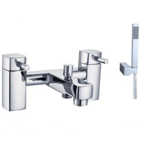 Just Taps Plus Milo Deck Mounted Bath Filler With Kit