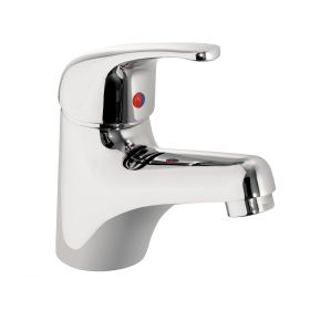 Just Taps Plus XY Single Lever Basin Mixer With Click Clack