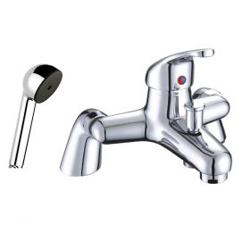 Just Taps Plus  XY Deck Mounted Bath Shower Mixer with Kit
