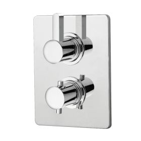 Just Taps Wings Thermostatic Concealed 1 Outlet Shower Valve