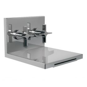 Just Taps Waterblade Built In Concealed Basin Mixer With Extended Spout