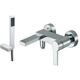 Just Taps Italia 150 Deck Mounted Bath Shower Mixer With Kit