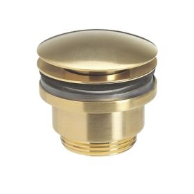 Crosswater UNION Basin Click Clack Waste Brushed Brass