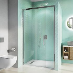 Crosswater Shower Enclosures Infinity 8 Single Sliding Door with Soft Close 1200mm