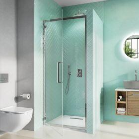 Crosswater Shower Enclosures Infinity 8 Hinged Door 900mm