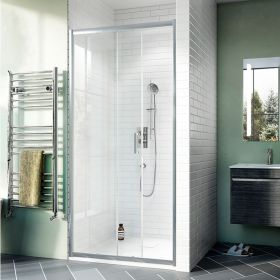Crosswater Shower Enclosures Kai 6 Single Sliding Door 1000mm