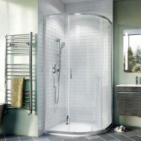 Crosswater Shower Enclosures Kai 6 Quadrant Single Door 800mm