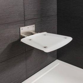 Crosswater Shower Enclosures Folding Shower Seat 360 x 360mm