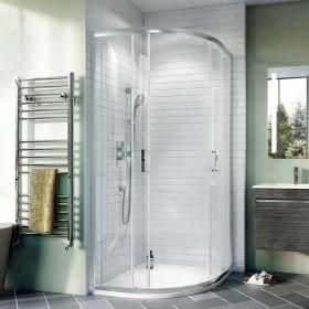 Crosswater Shower Enclosures Kai 6 Quadrant Double Doors 800mm
