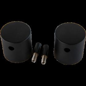 Crosswater Shower Valve Spares MPRO Crossbox Handles (pair) Matt Black