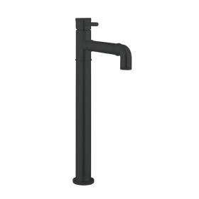 Crosswater MPRO Industrial Carbon Black Tall Basin Mixer
