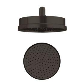 Crosswater MPRO Industrial Carbon Black Shower Head Ø200mm Easy Clean
