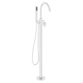 Crosswater MPRO Matt White Bath Shower Mixer