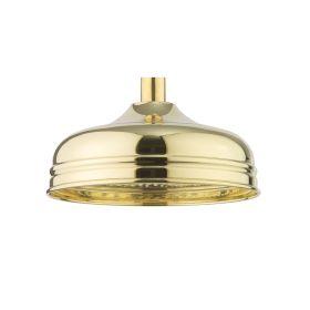 Crosswater Belgravia Unlacquered Brass Shower Head Ø200mm