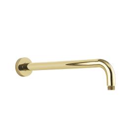 Crosswater Belgravia Unlacquered Brass Wall Mounted Shower Arm