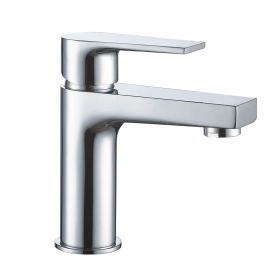 Just Taps Babel Single Lever Basin Mixer Without Pop Up Waste