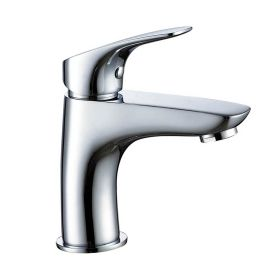 Just Taps Rize Single Lever basin mixer without pop up waste
