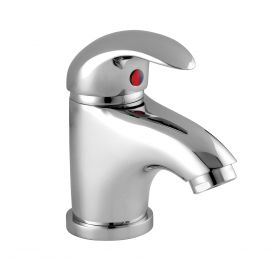 Just Taps Novo Mini Single Lever Basin Mixer With Pop Up Waste