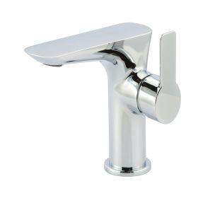 Just Taps Amore Side Single Lever Basin Mixer Without Pop Up Waste