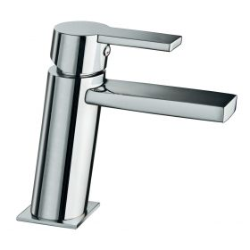 Just taps Italia 150 Single Lever Basin Mixer Without Pop Up Waste