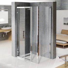 Novellini Kuadra G+F Extended Hinged Door Enclosure