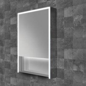 HIB Verve Mirrored LED Cabinet 80cm x 70cm x 12cm