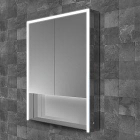 HIB Verve Mirrored LED Cabinet 60cm x 90cm x 15cm