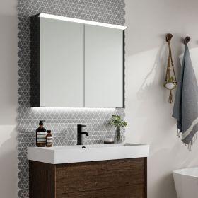 HIB Dusk Mirrored LED Cabinet 60cm x 70cm x 12cm