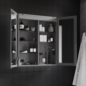 HIB Isoe Bathroom LED Cabinets 60cm x 70cm x 12.2cm