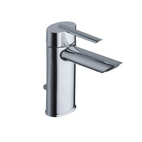 Just Taps Ovaline Single Lever Basin Mixer With Pop Up Waste