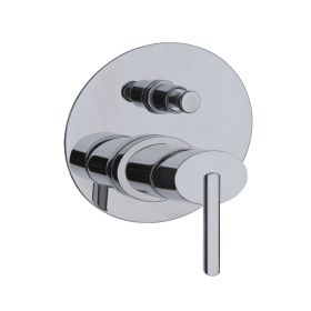 Just Taps Ovaline Concealed Shower Mixer With Diverter