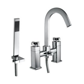 Just Taps Antler Bath Shower Mixer With Kit