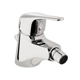 Just Taps Topmix single lever bidet mixer with pop up waste