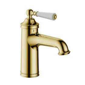 Just Taps Grosvenor Single Lever Basin Mixer Brass with nickel finishing