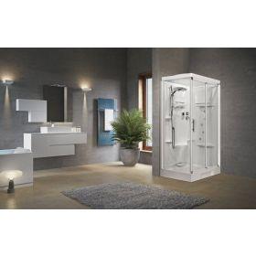 Novellini New Holiday 2P120 Hydromassage Sliding Shower Enclosure