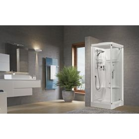 Novellini New Holiday GF80 Standard Pivot Door Enclosure
