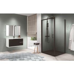 Novellini Zephyros G Hinged Shower Door