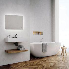 HIB Ambience LED Bathroom Mirror 90 x 60cm