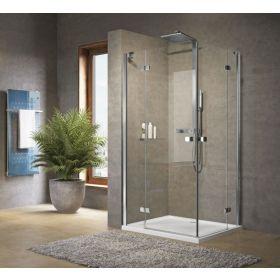 Novellini Brera A Corner Entry Hinged Shower Enclosure