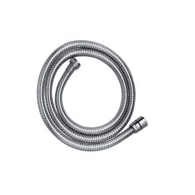 Just Taps Chrome plated, metal hose 1.25m