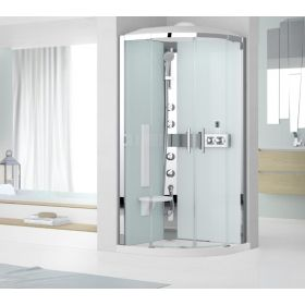 Novellini Glax R90 Thermostatic Quadrant Shower Enclosure