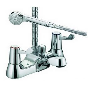Just Taps Plus Astra-CD Bath Shower Mixer with Kit
