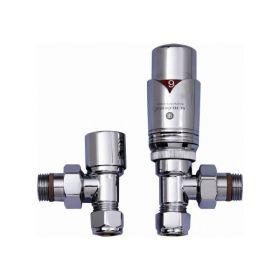 JIS Angled thermostatic valves (TRVs)