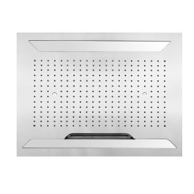 Just Taps Aquamist overhead shower, with mist, cascade and rain function