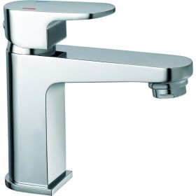 Just Taps Base Basin Mixer with Click Clack Waste