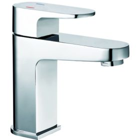Just Taps Base Mini Basin Mixer With Click Clack Waste