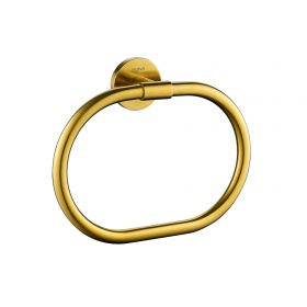 Flova Coco towel ring – Brushed Brass